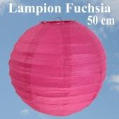 XL Lampion Fuchsia, 50 cm