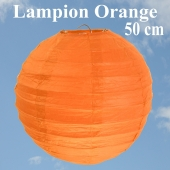 XL Lampion Orange, 50 cm