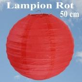 XL Lampion Rot, 50 cm