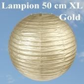 XL Lampion Gold, 50 cm