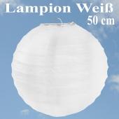 XL Lampion Weiß, 50 cm