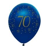 Luftballons Blau zum 70. Geburtstag