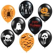 Luftballons Halloween Mischung, Partydekoration
