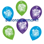 Luftballons Ninja Turtles Latexballons