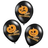 Luftballons Halloween, Kuerbisse, Pumpkins Dekoration