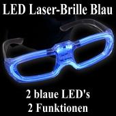 LED Laser-Brille blau