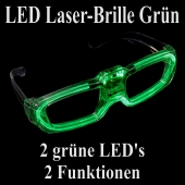 LED Laser-Brille grün