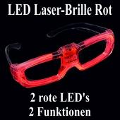 LED Laser-Brille rot