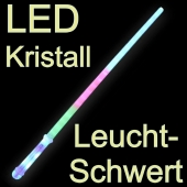 LED Leuchtschwert Kristall
