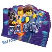 The LEGO Movie 2 Einladungskarten zum Kindergeburtstag