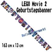 Kindergeburtstagsbanner LEGO Movie 2