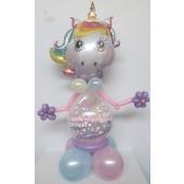 Luftballon-Figur-Einhorn