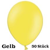 Großer 40x36 cm Luftballon in Gelb