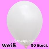 Großer 40x36 cm Luftballon in Weiß