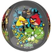 Angry Birds Orbz Luftballon aus Folie ohne Ballongas