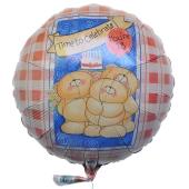 Luftballon zum 18. Geburtstag, Time to celebrate, You are 18, Zeit zum Feiern, Du bist 18