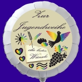 Luftballon zur Jugendweihe mit Ballongas-Helium