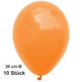 Luftballon Mandarin, Pastell, gute Qualität, 10 Stück