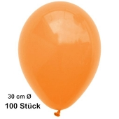 Luftballon Mandarin, Pastell, gute Qualität, 100 Stück