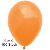 Luftballon Mandarin, Pastell, gute Qualität, 500 Stück