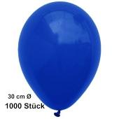 Luftballon Marineblau, Pastell, gute Qualität, 1000 Stück