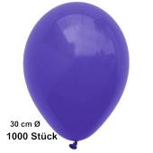 Luftballon Violett, Pastell, gute Qualität, 1000 Stück