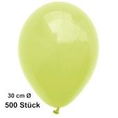 Luftballon Zitronengelb, Pastell, gute Qualität, 500 Stück