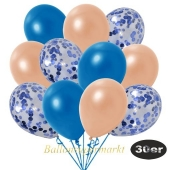 luftballons-30er-pack-10-blau-konfetti-und-10-metallic-blau-10-metallic-lachs