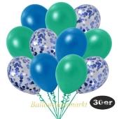 luftballons-30er-pack-10-blau-konfetti-und-10-metallic-tuerkisgruen-10-metallic-blau
