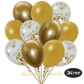 luftballons-30er-pack-10-gold-konfetti-und-10-metallic-gold-10-chrome-gold
