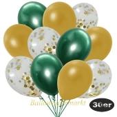 luftballons-30er-pack-10-gold-konfetti-und-10-metallic-gold-10-chrome-gruen