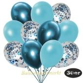 luftballons-30er-pack-10-hellblau-konfetti-und-10-metallic-hellblau-10-chrome-blau