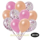 luftballons-30er-pack-10-rosa-konfetti-und-10-metallic-rosé-10-metallic-lachs