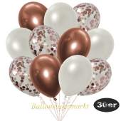 luftballons-30er-pack-10-rosegold-konfetti-und-10-metallic-weiss-10-chrome-kupfer