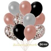 luftballons-30er-pack-10-rosegold-konfetti-und-7-metallic-rosegold-7-metallic-silber-6-metallic-schwarz