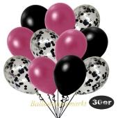 luftballons-30er-pack-10-schwarz-konfetti-und-10-metallic-burgund-10-metallic-schwarz