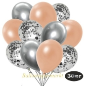 luftballons-30er-pack-10-silber-konfetti-und-10-metallic-lachs-10-chrome-silber
