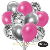 luftballons-30er-pack-10-silber-konfetti-und-10-metallic-pink-10-chrome-silber