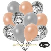 luftballons-30er-pack-10-silber-konfetti-und-10-metallic-lachs-10-metallic-silber