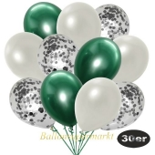 luftballons-30er-pack-10-silber-konfetti-und-10-metallic-weiss-10-chrome-gruen