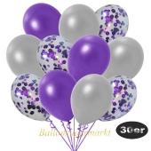 luftballons-30er-pack-10-violett-konfetti-und-10-metallic-silber-10-metallic-violett