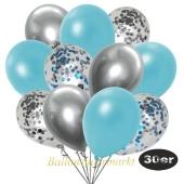 luftballons-30er-pack-5-hellblau-5-silber-konfetti-und-10-metallic-hellblau-10-chrome-silber