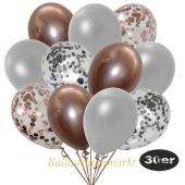 luftballons-30er-pack-5-rosegold-5-silber-konfetti-und-10-metallic-silber-10-chrome-rosegold