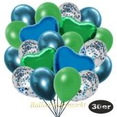 luftballons-30er-pack-9-hellblau-konfetti-und-9-metallic-gruen-8-chrome-blau-2-folienballons-blau-2-folienballons-gruen