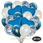 luftballons-30er-pack-9-hellblau-konfetti-und-9-metallic-perlmutt-8-chrome-blau-4-folienballons-blau