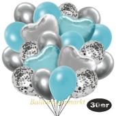 luftballons-30er-pack-9-silber-konfetti-und-9-metallic-hellblau-8-chrome-silber-2-folienballons-silber-2-folienballons-light-blue