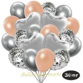 luftballons-30er-pack-9-silber-konfetti-und-9-metallic-lachs-8-chrome-silber-4-folienballons-silber