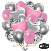 luftballons-30er-pack-9-silber-konfetti-und-9-metallic-rose-8-chrome-silber-2-folienballons-silber-2-folienballons-hellrosa