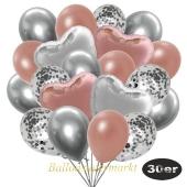 luftballons-30er-pack-9-silber-konfetti-und-9-metallic-rosegold-8-chrome-silber-2-folienballons-silber-2-folienballons-rosegold