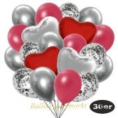 luftballons-30er-pack-9-silber-konfetti-und-9-metallic-rot-8-chrome-silber-2-folienballons-silber-2-folienballons-rot